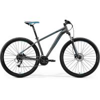 "Велосипед Merida Big.Nine 40-D MattDarkSilver/Blue/Black 2020 XXL(23"")(23414)"