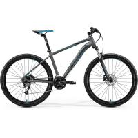 "Велосипед Merida Big.Seven 40-D MattDarkSilver/Blue/Black 2020 L(19"")(23588)"