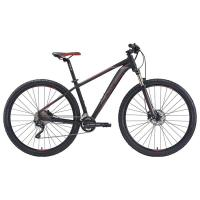 "Велосипед Merida Big.Nine 80-D MattBlack/Red/Silver 2020 XL(20"")(59504)"